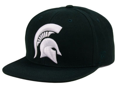 Michigan State Spartans Top of the World NCAA Extra Logo Snapback Cap