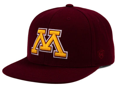 Minnesota Golden Gophers Top of the World NCAA Extra Logo Snapback Cap