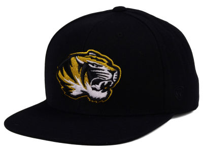 Missouri Tigers Top of the World NCAA Extra Logo Snapback Cap