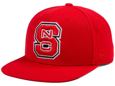 North Carolina State Wolfpack Top of the World NCAA Extra Logo Snapback Cap