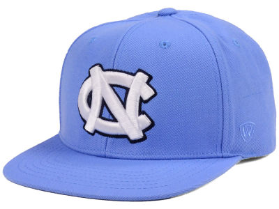North Carolina Tar Heels Top of the World NCAA Extra Logo Snapback Cap