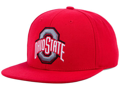 Ohio State Buckeyes Top of the World NCAA Extra Logo Snapback Cap