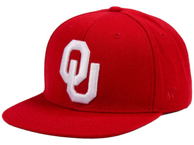 Oklahoma Sooners Top of the World NCAA Extra Logo Snapback Cap