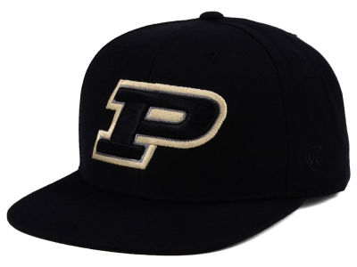 Purdue Boilermakers Top of the World NCAA Extra Logo Snapback Cap
