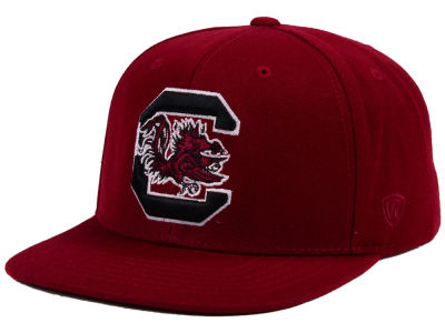South Carolina Gamecocks Top of the World NCAA Extra Logo Snapback Cap