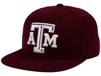 Texas A&M Aggies Top of the World NCAA Extra Logo Snapback Cap