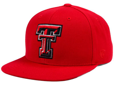 Texas Tech Red Raiders Top of the World NCAA Extra Logo Snapback Cap