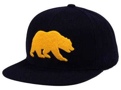 California Golden Bears Top of the World NCAA Extra Logo Snapback Cap