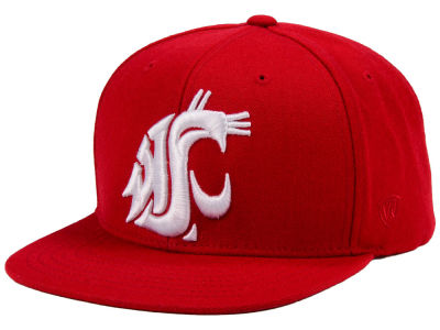 Washington State Cougars Top of the World NCAA Extra Logo Snapback Cap