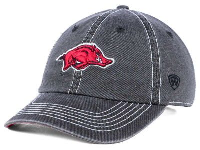 Arkansas Razorbacks Top of the World NCAA Grinder Adjustable Cap