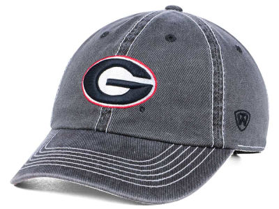 Georgia Bulldogs Top of the World NCAA Grinder Adjustable Cap