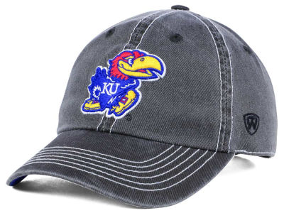 Kansas Jayhawks Top of the World NCAA Grinder Adjustable Cap