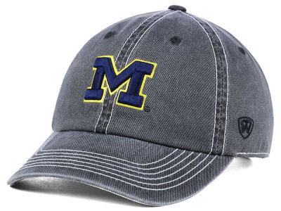 Michigan Wolverines Top of the World NCAA Grinder Adjustable Cap