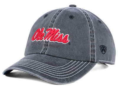 Ole Miss Rebels Top of the World NCAA Grinder Adjustable Cap