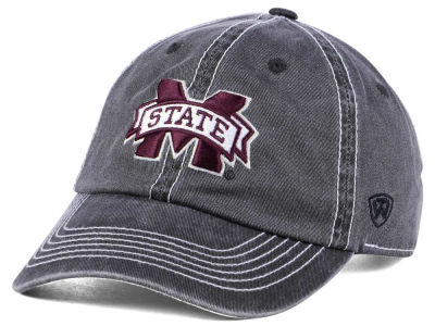 Mississippi State Bulldogs Top of the World NCAA Grinder Adjustable Cap