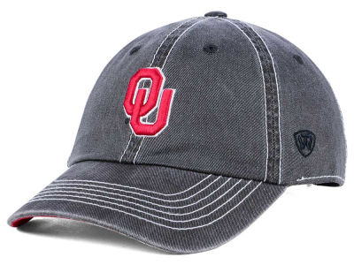 Oklahoma Sooners Top of the World NCAA Grinder Adjustable Cap