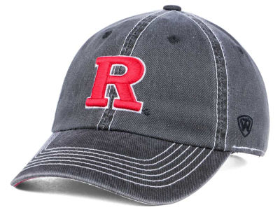Rutgers Scarlet Knights Top of the World NCAA Grinder Adjustable Cap