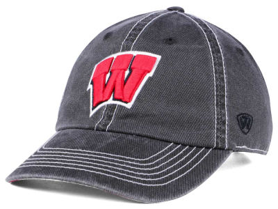 Wisconsin Badgers Top of the World NCAA Grinder Adjustable Cap