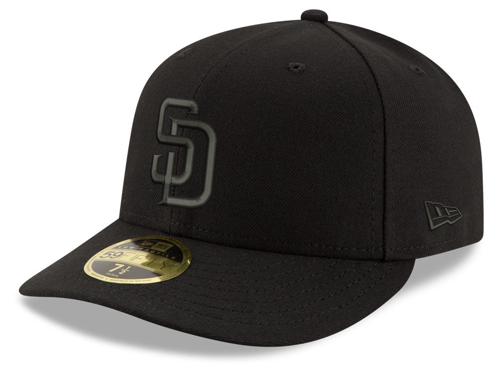 wholesale dealer 5a176 ea137 low cost mlb fitted hats new era 59fifty san diego padres black 013 3d130  8965a  hot san diego padres fedora hat order 0359b 2a1cb