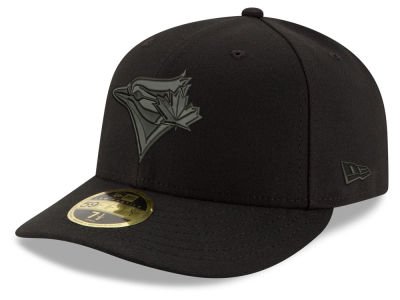 Toronto Blue Jays New Era MLB Triple Black Low Crown 59FIFTY Cap
