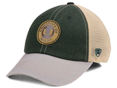 Miami Hurricanes Top of the World NCAA Hiatus Flex Cap
