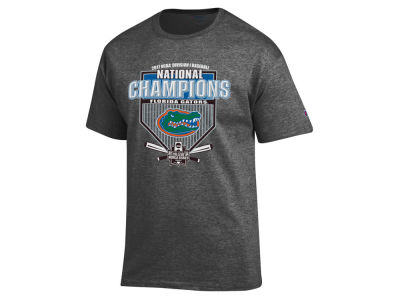 Florida Gators Champion 2017 NCAA Men's College World Series Locker Room Champ T-shirt