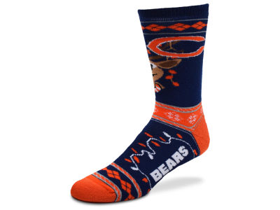 Chicago Bears 2017 Ugly Sweater Socks