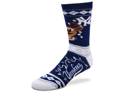 New York Yankees For Bare Feet 2017 Ugly Sweater Socks