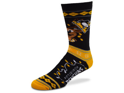 Pittsburgh Penguins 2017 Ugly Sweater Socks
