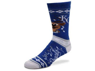 Kansas City Royals For Bare Feet 2017 Ugly Sweater Socks