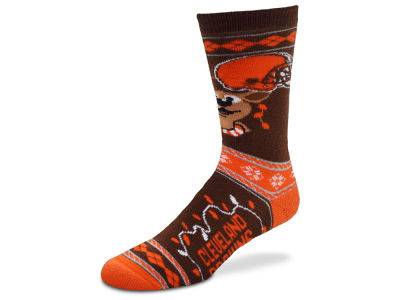 Cleveland Browns 2017 Ugly Sweater Socks