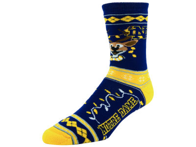 Notre Dame Fighting Irish 2017 Ugly Sweater Socks