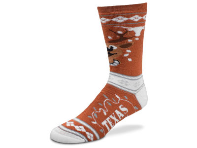 Texas Longhorns For Bare Feet 2017 Ugly Sweater Socks