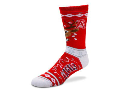 Los Angeles Angels For Bare Feet 2017 Ugly Sweater Socks