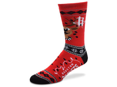 Houston Rockets For Bare Feet 2017 Ugly Sweater Socks