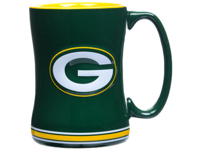 Green Bay Packers Relief Mug - 14oz