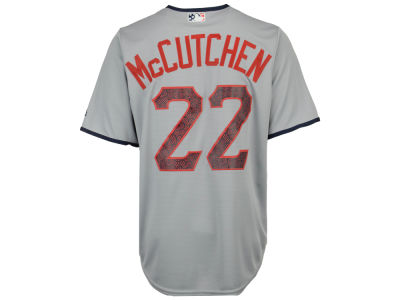 Pittsburgh Pirates Andrew McCutchen Majestic MLB Men's Stars & Stripes Cool Base Jersey
