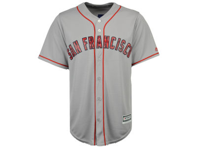 San Francisco Giants Majestic MLB Men's Stars & Stripes Cool Base Jersey