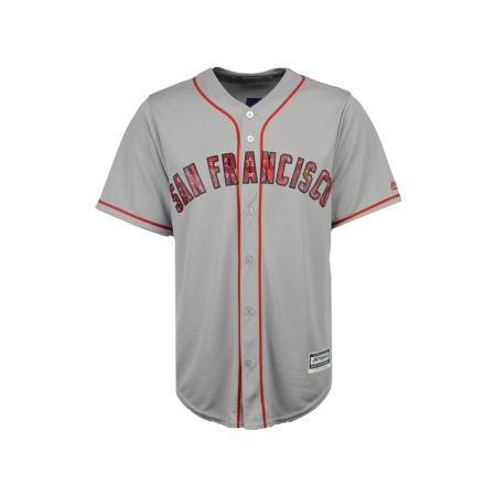 San Francisco Giants MLB Men's Stars & Stripes Cool Base Jersey