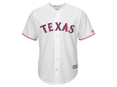 Texas Rangers Majestic MLB Men's Stars & Stripes Cool Base Jersey