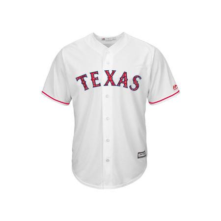Texas Rangers MLB Men's Stars & Stripes Cool Base Jersey