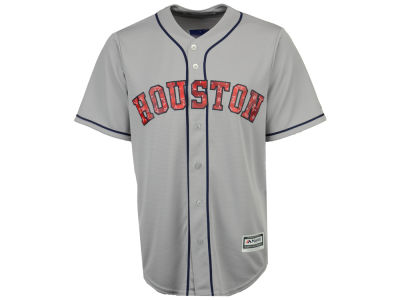 Houston Astros Majestic MLB Men's Stars & Stripes Cool Base Jersey
