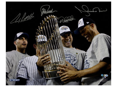 New York Yankees Derek Jeter 16x20 Autographed Photo