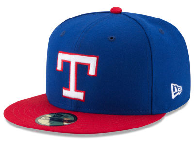 Texas Rangers New Era MLB Turn Back The Clock 59FIFTY Cap