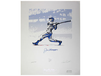 New York Yankees Joe DiMaggio Steiner 25x32.5 Autographed Lithograph
