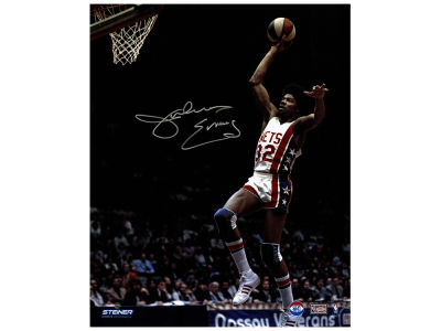 New Jersey Nets Julius Erving Steiner 16x20 Autographed Photo