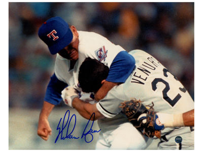 Texas Rangers Nolan Ryan Steiner 8x10 Autographed Photo V