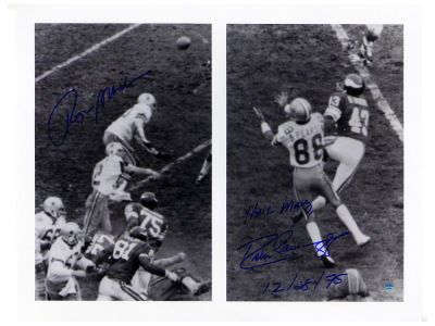 Dallas Cowboys Roger Staubach Steiner 16x20 Autographed Photo
