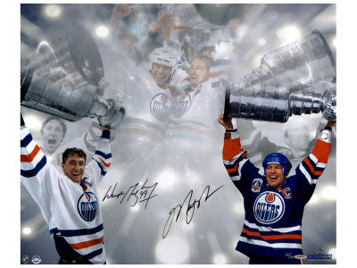 New York Rangers Wayne Gretzky 16x24 Autographed Photo
