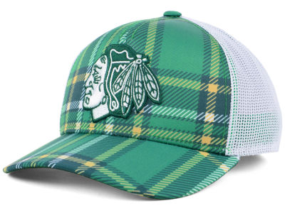 Chicago Blackhawks adidas 2018 NHL St. Patrick's Day Adjustable Cap